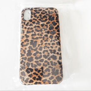 *BRAND NEW* LEOPARD IPHONE XR CASE